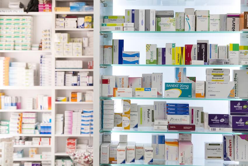 Лекарства без рецепта в Испании