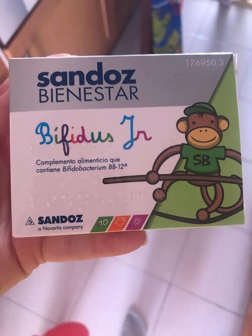 Прибиотики в Испании для детей
