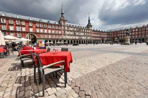 Главная площадь в Мадриде