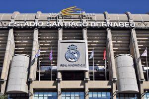 Стадион футбола Сантьяго Бернабеу