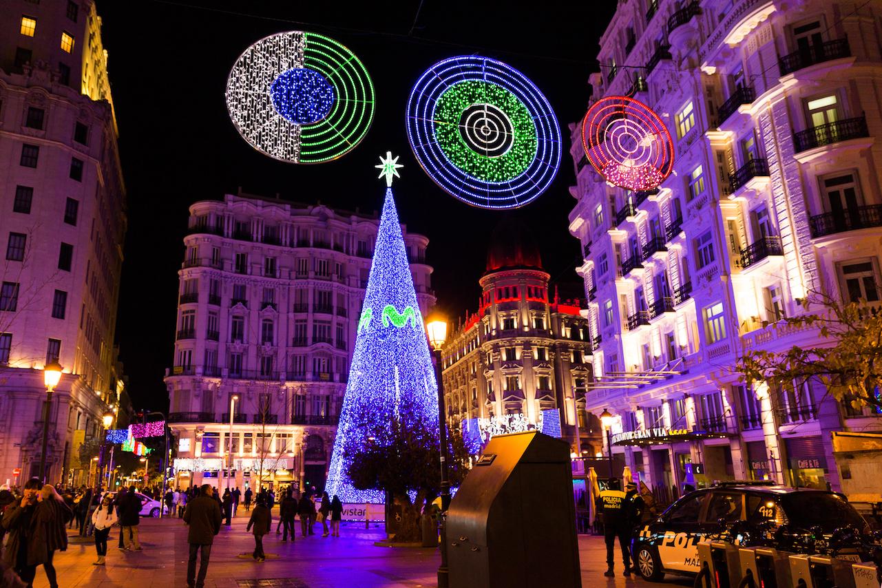 Рождество с детьми в Мадриде