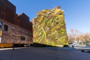 Вертикальный сад в Мадриде