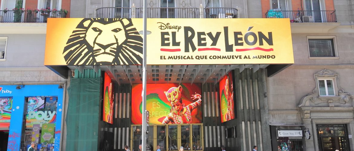 TOP MUSICALS IN MADRID