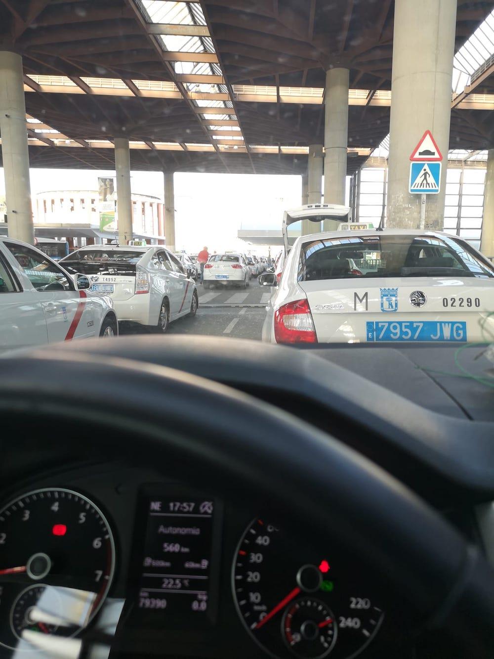 Такси Аэропорт Мадрид
