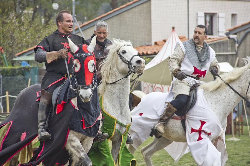 средневековый рынок в Испании